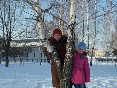 Катя Володько с мамой